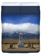 Manzanar National Historic Site Duvet Cover