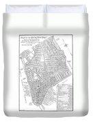 Map Of New York City, 1803 Duvet Cover