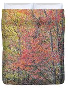 Maple Corner Foliage Duvet Cover