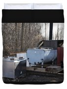 Maple Sap Collected Duvet Cover