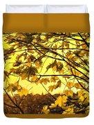Maple Sunset - Paint Duvet Cover