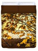 Maple Sunset Duvet Cover