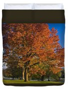 Maple Trees Duvet Cover