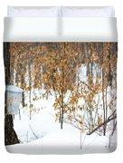 Maple Woods Duvet Cover