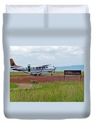 Mara Serena Air Strip Duvet Cover