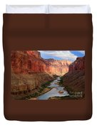 Marble Canyon - April Duvet Cover