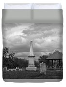 Marblehead Old Burial Hill Cemetery Duvet Cover