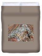 Marbleized Wood Duvet Cover
