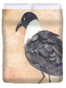 March Of The Laughing Gull Duvet Cover