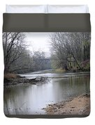 March River Morning Duvet Cover