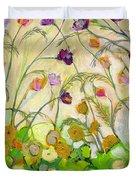 Mardi Gras Duvet Cover by Jennifer Lommers