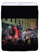 Mardi Gras Vampire Float  2 Duvet Cover