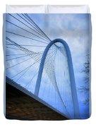 Margaret Hunt Hill Bridge Dawn Duvet Cover