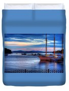 Margaret Todd At Sunrise Duvet Cover