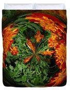 Marigold Orb II Duvet Cover