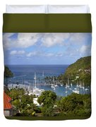 Marigot Bay Duvet Cover