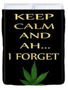 Marijuana 4 Duvet Cover