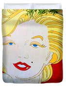 Marilyn Duvet Cover by Ethna Gillespie