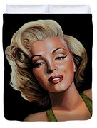 Marilyn Monroe 2 Duvet Cover by Paul Meijering