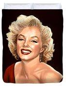 Marilyn Monroe 3 Duvet Cover by Paul Meijering