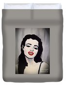 Marilyn Monroe Aka Norma Jean The Beginning Duvet Cover