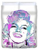 Marilyn Monroe I Want To Be Loved By You Duvet Cover