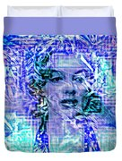 Marilyn Monroe Out Of The Blue Duvet Cover