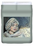 Marilyn Monroe - Unfinished Duvet Cover