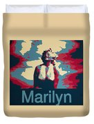 Marilyn Poster Duvet Cover