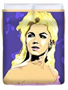 Marilyn What A Beautiful Girl Duvet Cover