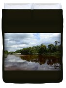 Marimbus River Brazil Reflections 4 Duvet Cover