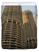 Marina City Chicago Duvet Cover