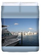 Marina Key West - Harbored Fun Duvet Cover