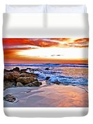 Marineland Sunrise Duvet Cover
