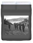 Marines Of The 5th Marine Regiment Duvet Cover