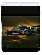 Mario Andretti John Player Special Lotus 79  Duvet Cover