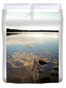 Marion Lake Reflections Duvet Cover