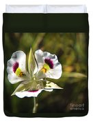 Mariposa Lily Duvet Cover