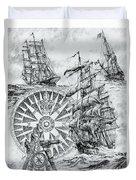 Maritime Heritage Duvet Cover