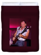 Mark Rocking In Lewiston 2009 Duvet Cover