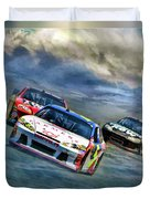 Mark Martin Duvet Cover
