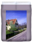Marken Village Architecture Duvet Cover