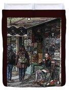 Market Busker 8 Duvet Cover