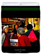 Market Day In Chinatown  Duvet Cover