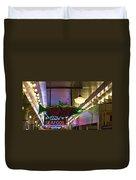 Market Grill Duvet Cover