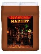Market On Houston Duvet Cover