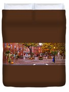 Market Square Harvest - 2005 Duvet Cover