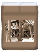 Market St. Power Plant #2 Duvet Cover
