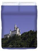 Marksburg Castle 25 Duvet Cover