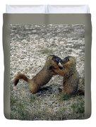 4m09150-02-marmot Fight Duvet Cover